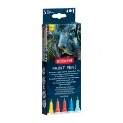 Set 5 liner Paint Pen Palette 1 Derwent