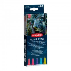 Set 5 liner Paint Pen Palette 3 Derwent