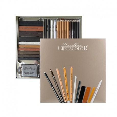 Set creioane Passion Box Cretacolor