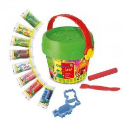 Set plastilina My Farm Bucket Giotto Bebe