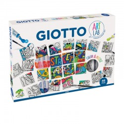Set creativ Color & Puzzle Art Lab Giotto