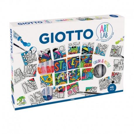 Set creativ Color & Puzzle Art Lab Giotto