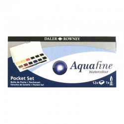 Set culori acuarela Pocket Aquafine Daler Rowney