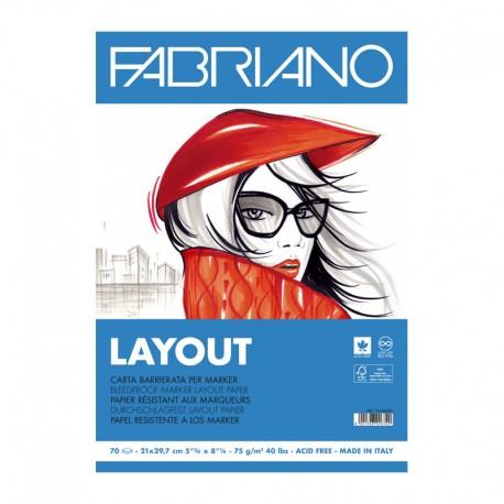 Bloc desen marker Layout Fabriano