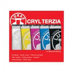 Set 5x125ml culori acrilice Terzia Cryl Lukas