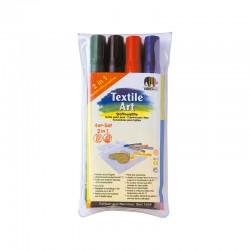 Set 4 markere textil Nerchau Lukas