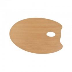 Paleta pictura lemn ovala Mabef