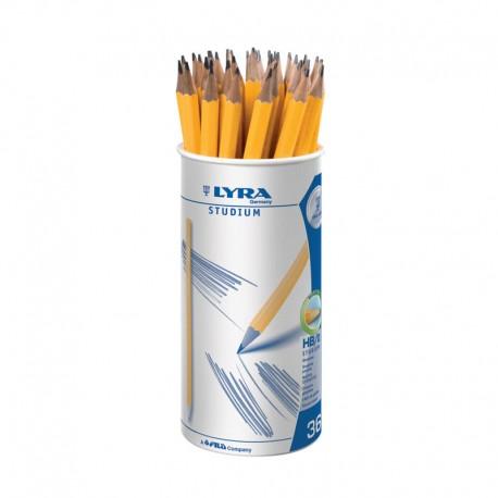 Display 36 creioane grafit Studium Lyra