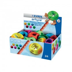 Display 24 ascutitoare Groove Lyra