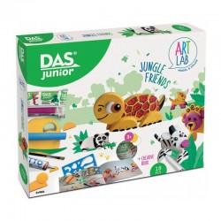 Set modelaj Art Lab Jungle Friends Das Junior