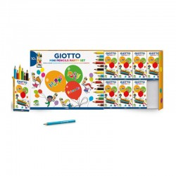 Set mini-creioane colorate Party Gift Giotto