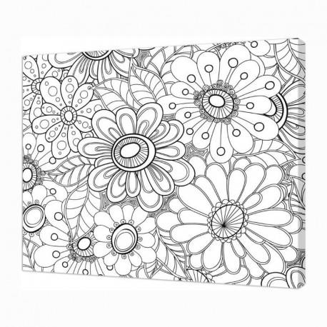 Panza sasiu predesenata Art Therapy Pintcolor