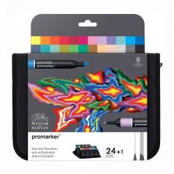 Trusa 24 Promarkere Arts&Illustration Winsor & Newton