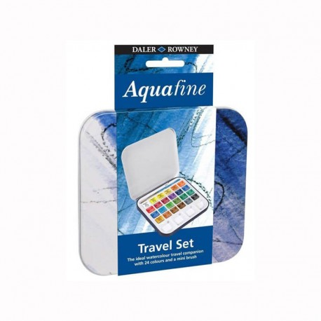 Set 24 culori acuarelabile godete Travel Aquafine
