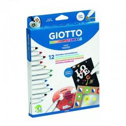 Set 12 markere Decor Giotto