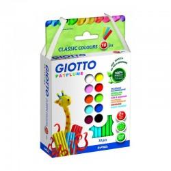 http://Set plastilina 10 culori Patplume Giotto