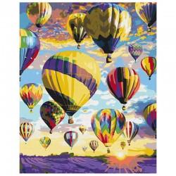 http://Pictura pe numere Dreams in the sky Atelier