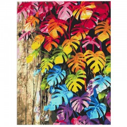 http://Pictura pe numere Colored leaves Atelier
