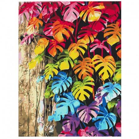 Pictura pe numere Colored leaves Atelier