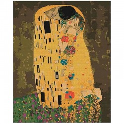 Pictura pe numere The Kiss Atelier