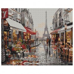 Pictura pe numere Paris after rain Atelier