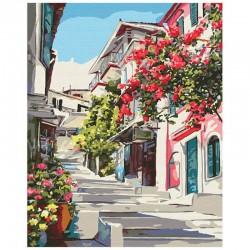 Pictura pe numere Greek village Atelier