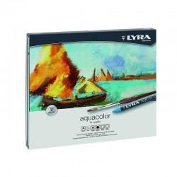 Set 48 creioane cerate acuarelabile Lyra
