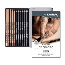 Set 12 creioane Sketching Rembrandt Lyra