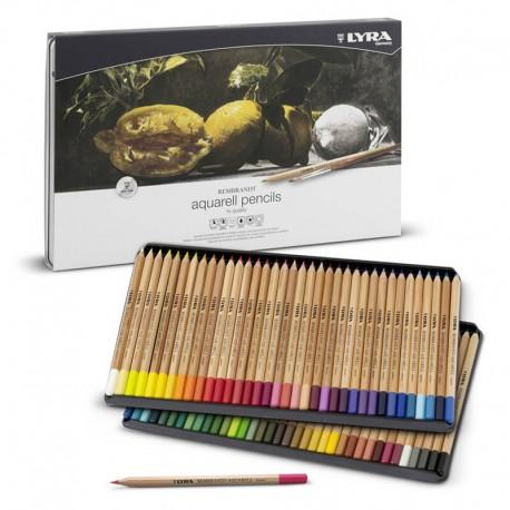 Set 72 creioane acuarela Rembrandt Aquarell Lyra