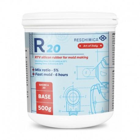 Cauciuc siliconic R20 Reschimica