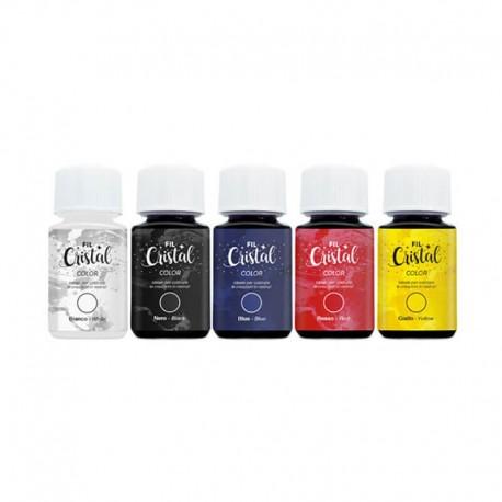 Set 5 culori rasina Classic Reschimica
