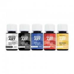 Set 5 culori rasina Resin Art Reschimica