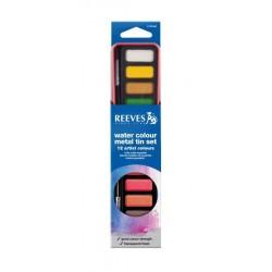 Set culori acuarela Reeves 12 godete