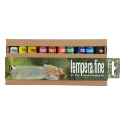Set 10x20ml culori tempera Fine Maimeri