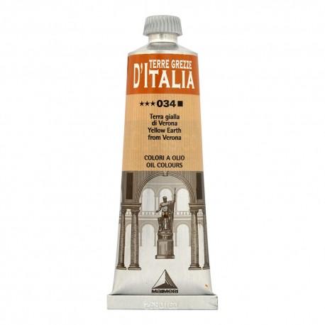 Culori ulei Terre Grezze di Italia Maimeri