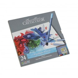 Set 24 creioane acuarelabile Marino Cretacolor
