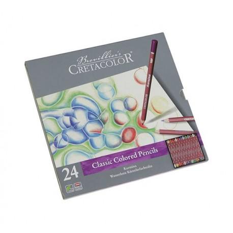 Set 24 creioane colorate Karmina Cretacolor
