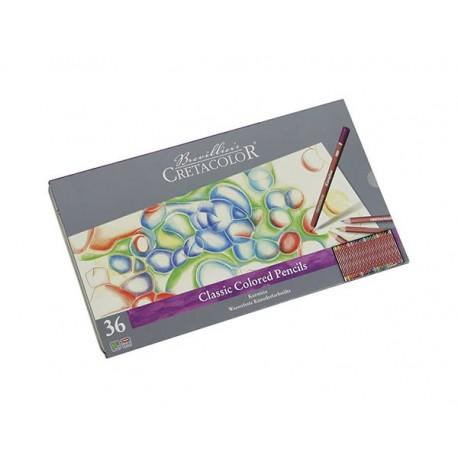 Set 36 creioane colorate Karmina Cretacolor