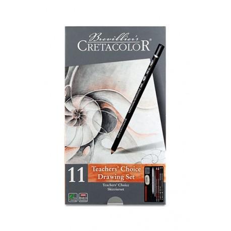 Set creioane Teachers Choice Cretacolor