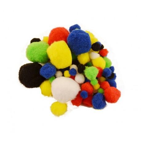 Pompon colorat