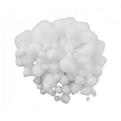 Pompon alb