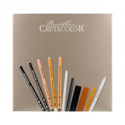 Set creioane Passion Box Cretacolor