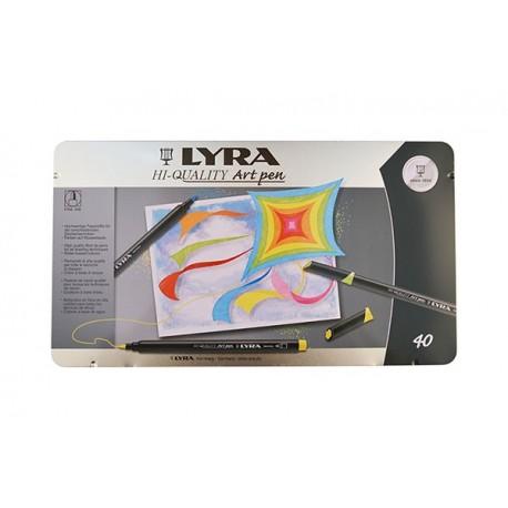 Set 40 markere Art Pen Lyra