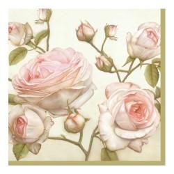Servetel decorativ Beauty Roses