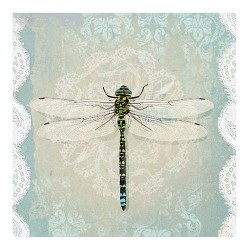 Servetel decorativ Romantic dragonfly