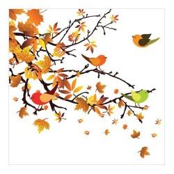 http://Servetel decorativ Autumn Birds