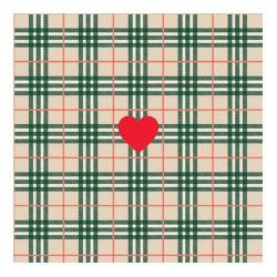 http://Servetel decorativ I love Grid