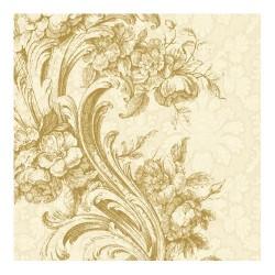 Servetel decorativ Baroque Style gold