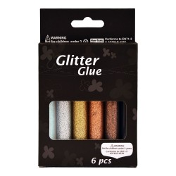 Set glitter gel 6x10 ml