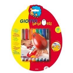 Set 8 carioci si suport Egg Giotto Bebe